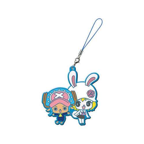 One Piece Whole Cake Island PVC Keychain Charm Sanji Reiju Katakuri Carrot@33387