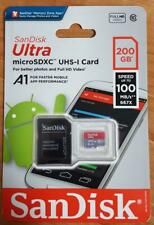 100MBs A1 U1 Works with SanDisk SanDisk Ultra 200GB MicroSDXC Verified for Samsung SM-G988UZKEXAA by SanFlash