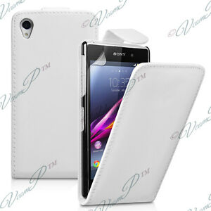 meet 22138 98dde Details about Covers Case Cover Wallet Genuine Leatherette Folding Sony  Xperia T3
