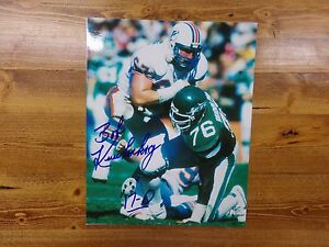 Bob Kuechenberg Miami Dolphins 8x10 Autographed Photo Football