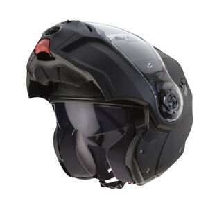 Caberg Droide Noir Mat Visière Relevable Modulable Casque Motocycle ... 3eedd61a6564