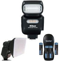 Nikon Sb-500 Af Speedlight Flash 4814 For Nikon Dslr Camera + Diffuser + Battery on sale