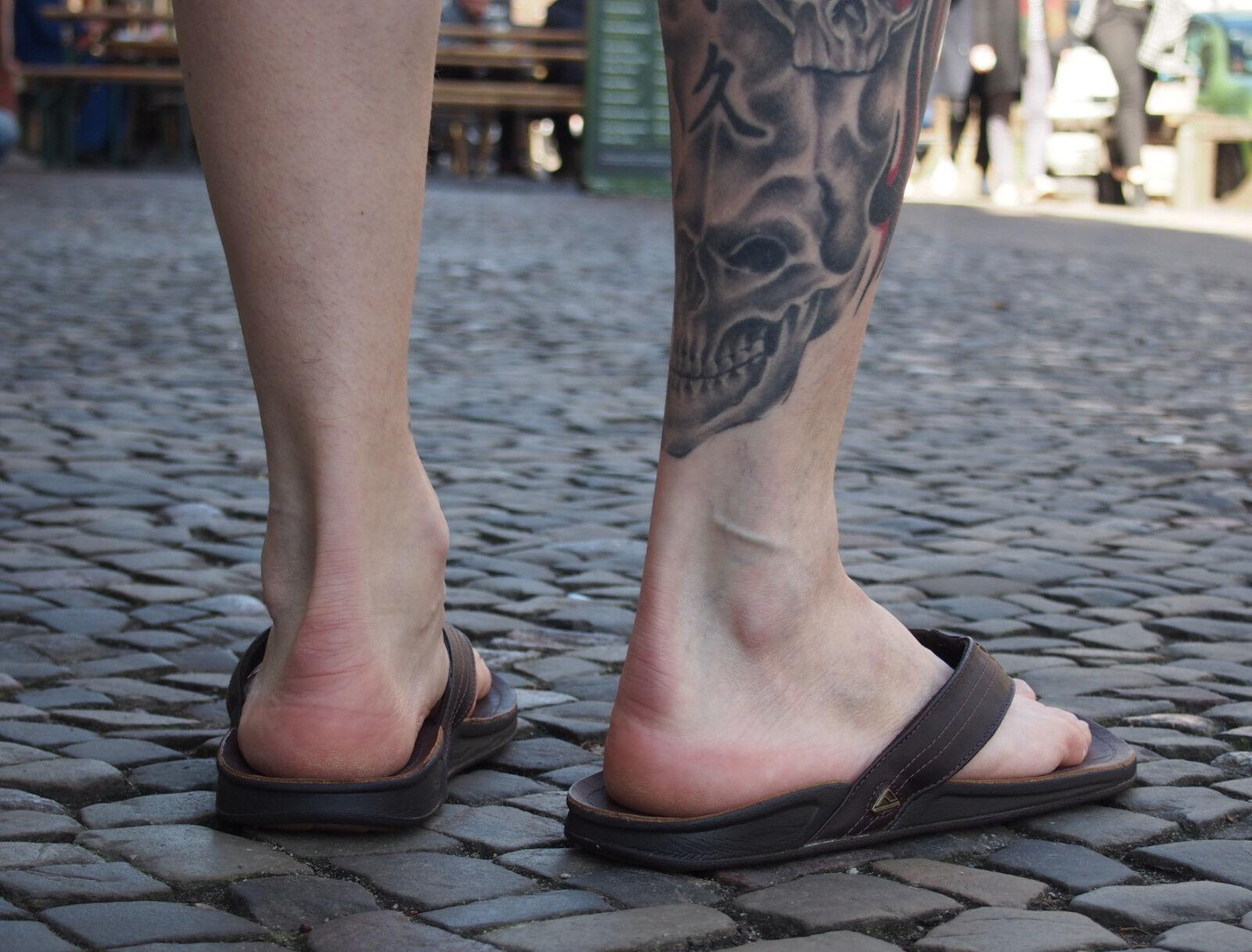 REEF Zehentrenner J-BAY III dark brown braun Schlappen NEU Schuhe Echtleder
