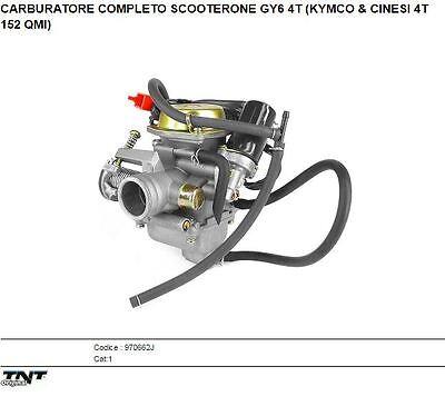 S5809C KIT RIPARAZIONE CARBURATORI KYMCO GY6 125CC 152 QMI