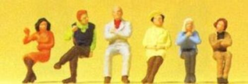 PREISER 14073 1:87 HO SCALE Seated Persons