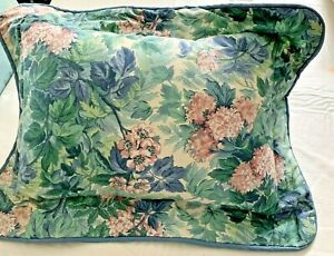 Laura Ashley Ashbourne Hydrangea Floral Pillow W Cover 12x16 Cotton 3 Avail Ebay