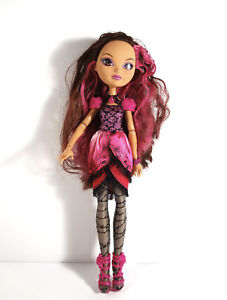 EVER AFTER HIGH 1ST CHAPTER BRIAR BEAUTY DOLL REPLACEMENT BLACK SILVER PURSE