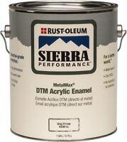 Rust-oleum 238755 1 Gallon Gray Sierra Metalmax Dtm Acrylic Enamel Primer
