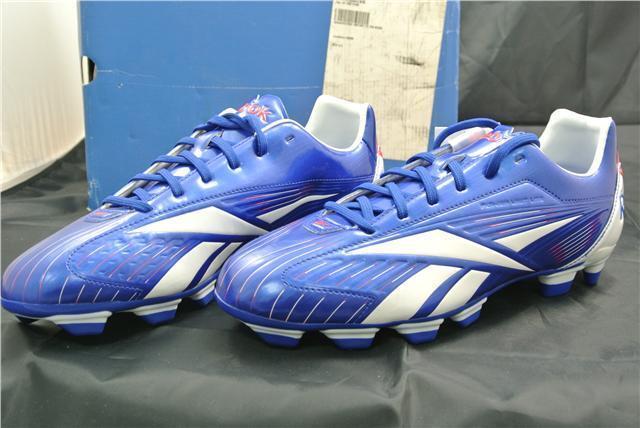 Reebok Scarpe Da Running Calcio Misura Scarpe Running Da Sport trainners Blu Bianco 9e5494