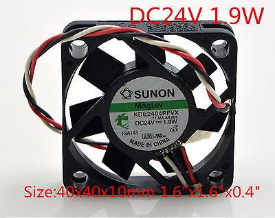 "SUNON Cooling Fan 5V 0.7W KDE0504PFV2 4cm 4010 40mmx40mmx10mm 1.6/""x1.6/""x0.4/"""
