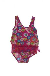 Baby-Girls-Fisher-Price-Pink-Flower-Daisy-Swimsuit-Bathing-Suit-18-24-Months-NEW