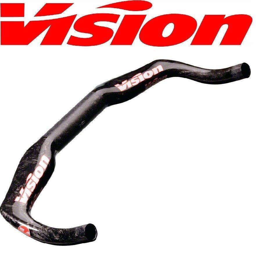 Vision Carbon  Trimax Bull 31.8 x 41cm 0mm Drop TT TimeTrial Handle Bar UCI Bike  hot sale