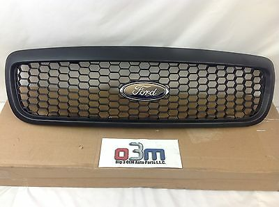 07-11 Ford Crown Victoria (Fleet Option) Black Front Grille w/ Ford Oval new OEM