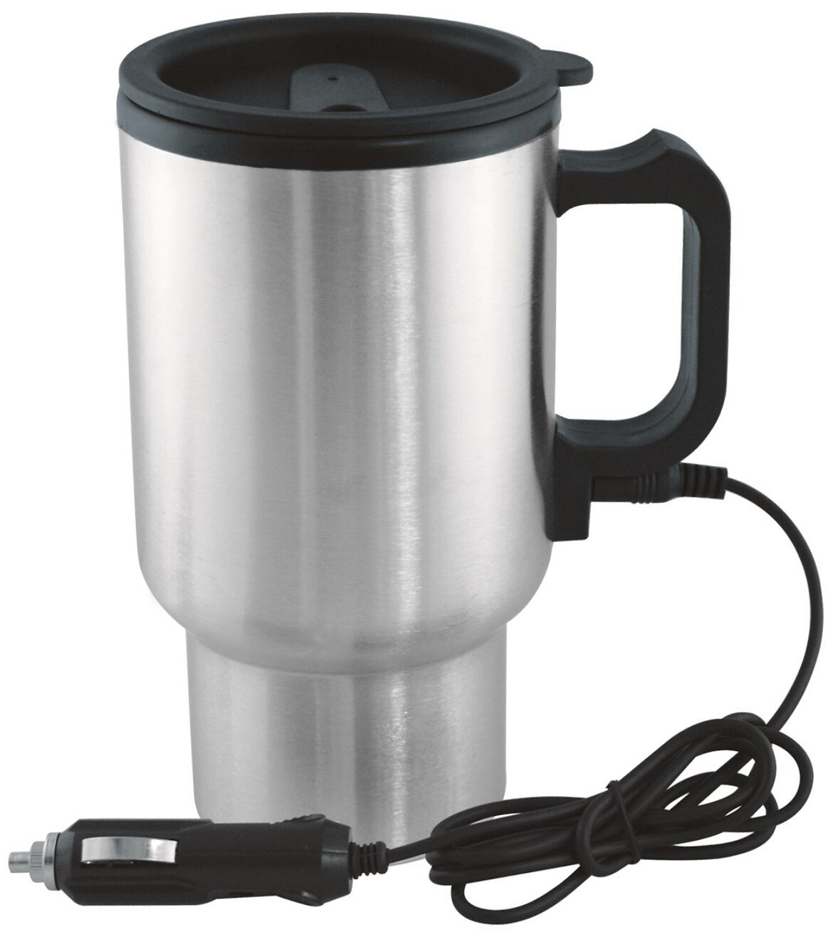 12V in-car thermos thermique chauffé tasse voyage Tasse Camping Caravaning café   thé