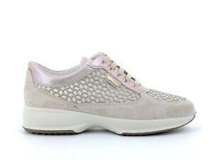 IGI-amp-CO-5154344-Sneakers-Shoes-Lace-Up-Woman-Casual-Network-Beige