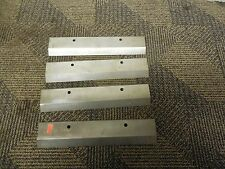 4 No Name Knife Shear Blade 10 14 X 2 18 X 38 Lot Of 4 New