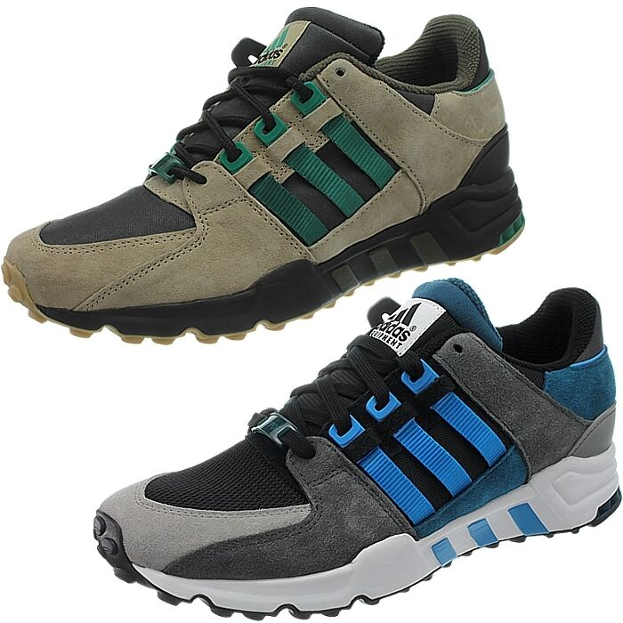 Adidas equipment zapatillas running support eq93 caballeros de gamuza zapatillas equipment negro EQT nuevo afaafb