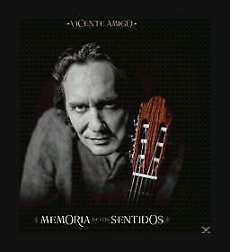 """CD VICENTE AMIGO """"MEMORIA DE LOS SENTIDOS (CRISTAL)"""". Nuevo y precintado"""