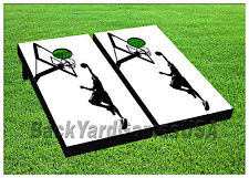 VINYL WRAPS Cornhole Boards DECAL Basketball Dunk Bag Toss Game Stickers 492