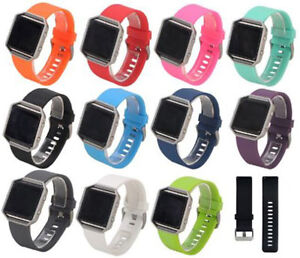 Replacement-Strap-for-Fitbit-Blaze-Wristband-Band-UK-Secure-Metal-Buckle