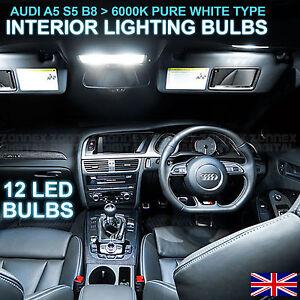 Image Is Loading Audi A5 B8 S5 RS5 Premium LED Interior