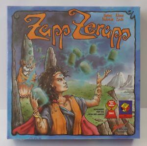 Zoch-Zapp-zerapp-juego-del-ano-2001-juego-de-mesa-nuevo-New-soldada