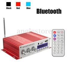 Car Home Mini Bluetooth HiFi Audio Stereo Amplifier AMP Bass Booster 20W*2CH