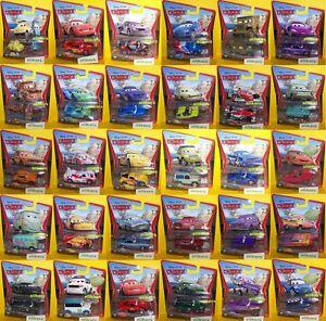 A-Cars-2-Mattel-1-55-Metallo-Modellini-Giocattolo-Disney-Pixar-Autos-Die-cast