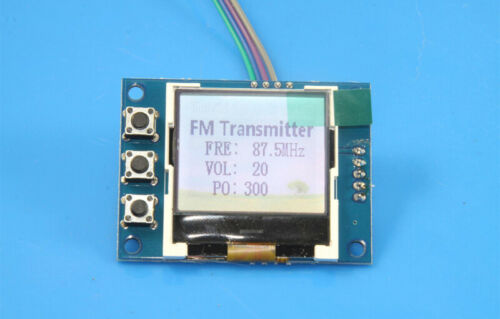 DIY KITS FM 76M-108MHZ stereo PLL FM transmitter 5W power frequency adjustable