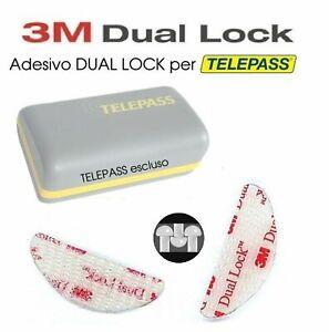 KIT-SUPPORTO-RIMOVIBILE-3M-DUAL-LOCKS-ADESIVI-TELEPASS-CELLULARE-TABLET-GPS