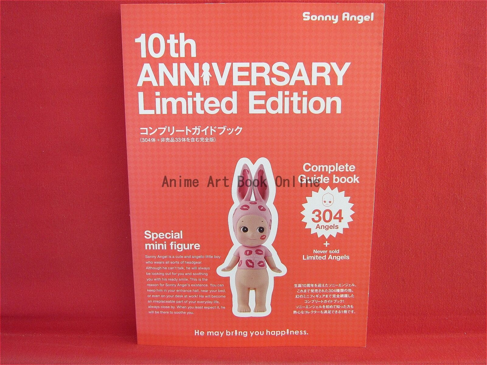 Sonny Angel Limited Edition 10th anniversary complete complete complete Guide Book c6b46a
