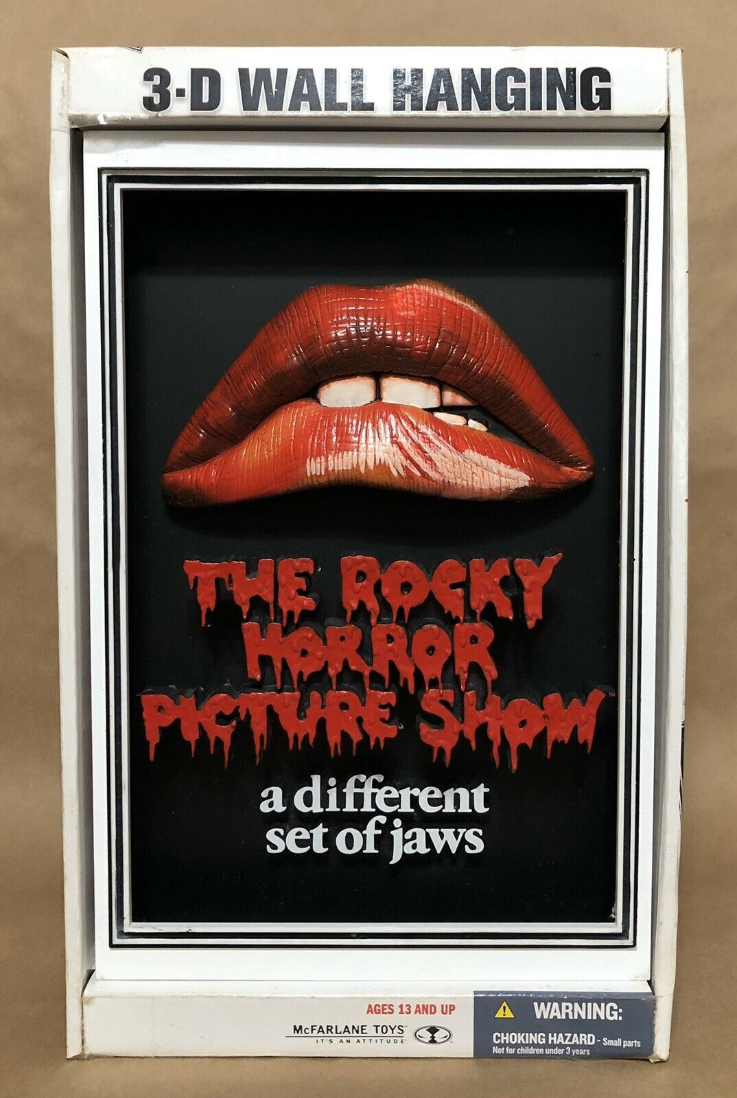 The Rocky Horror Picture Show 3-D Wall Hanging Pop Culture McFarlane MIB