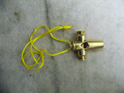 MAURILIO STYLE NEW BILLET PINTAIL WHISTLE