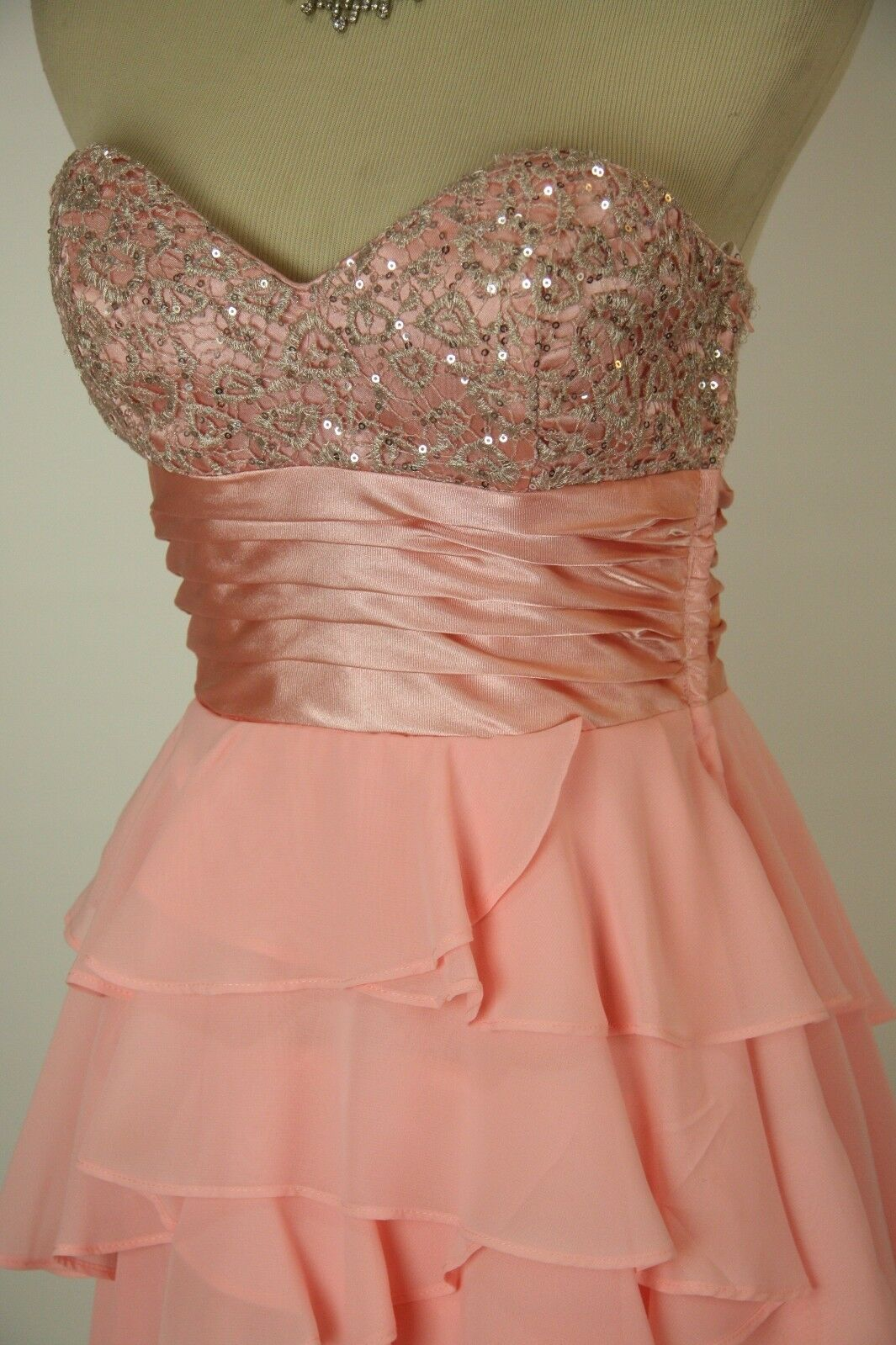 Masquerade bluesh  120 Evening Prom Formal Cruise Long Homecoming Dress size 5