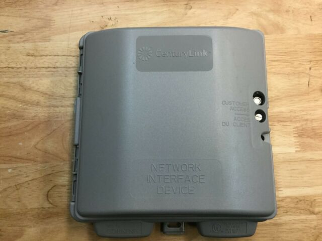 Corning Century Link Network Interface Device Box Enclosure Indoor//Outdoor