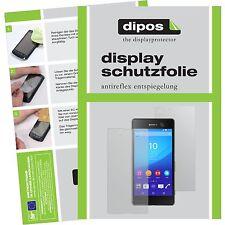 6x Sony Xperia M5 Schutzfolie matt Displayschutzfolie Folie dipos Displayfolie