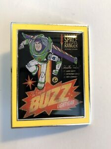 Toy-Story-4-Mystery-Buzz-Lightyear-Poster-Disney-Pin-B8