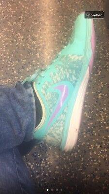 Nike Sneakers Turnschuhe Lila Mintgrün 38