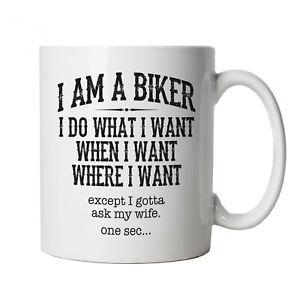 I-Am-A-Biker-Mug-Motorbike-MotoGP-Superbike-TT-Gift-Him-Dad-Fathers-Day-Xmas