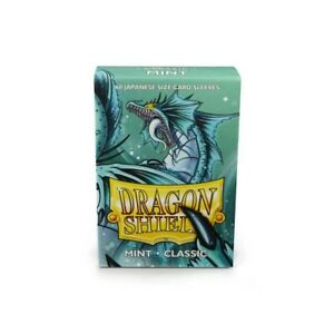 Japanese Classic Mint 60 ct Dragon Shield Sleeves YuGiOh Size 10% OFF 2+
