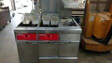 Vulcan 2 Well Fryer With Dump Station And Filtration System