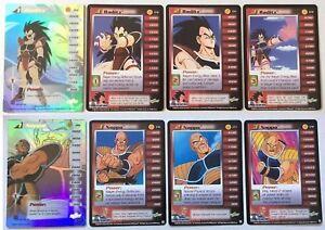 Complete HT High Tech Saiyan Saga Unlimited Score Personalities