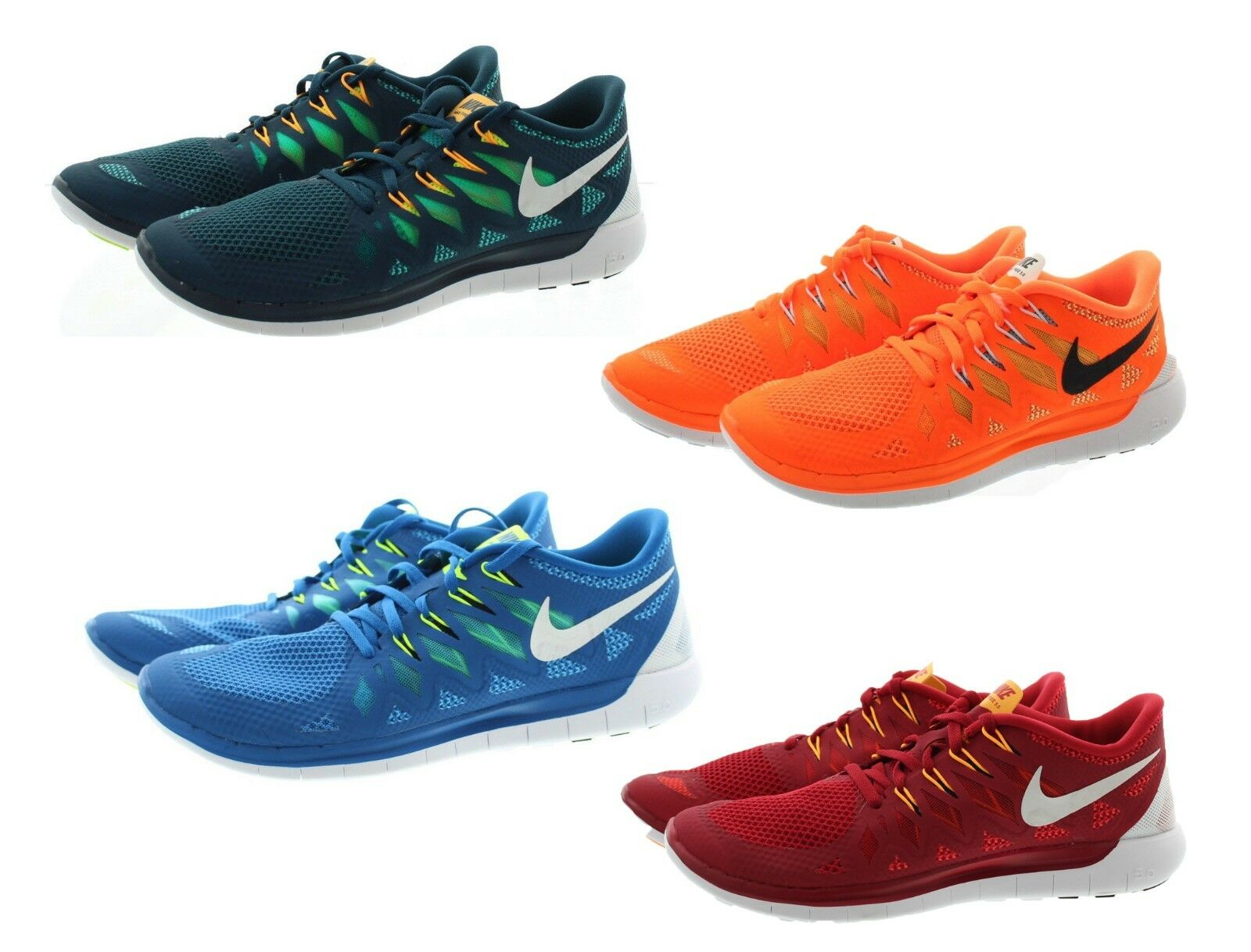 Nike 642198 Mens Free 5.0 Athletic Performance Running shoes Sneakers