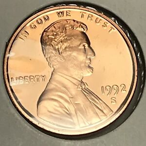 1992-S-LINCOLN-MEMORIAL-CENT-PROOF-COLLECTOR-COIN-FOR-YOUR-SET-6