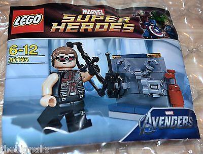 LEGO MARVEL SUPER HEROES AVENGERS SUPER HEROES HAWKEYE 30165 NEW//SEALED