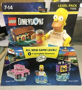 LEGO-DIMENSIONS-71202-Level-Pack-The-Simpsons-Homer