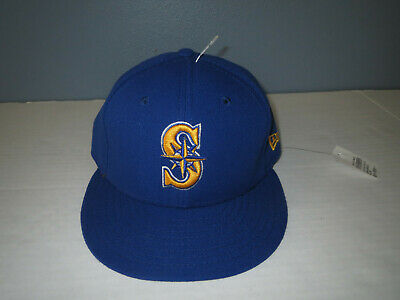 MLB Cap New Era Seattle Mariners ALT 2 59Fifty Fitted Hat Royal Blue