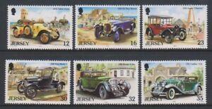 Jersey-1989-Vintage-Cars-1st-Serie-Set-MNH-Sg-462-7