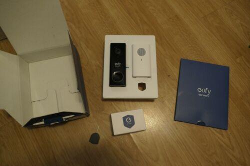 Anker Eufy Security 2K HDR 2-Way Audio Wired Video Doorbell Weatherproof