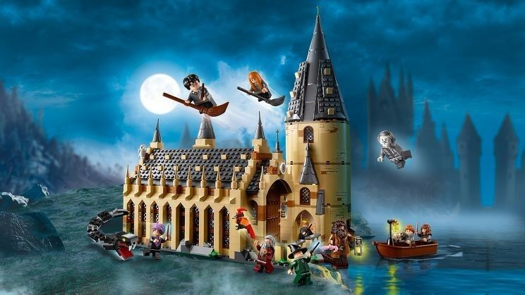 LEGO Harry krukmakare Hogwkonsts Great Hall 7954 Wizarding värld New 2018 878 bitar